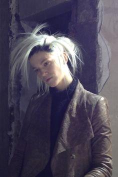 PFW: Haider Ackermann Beauty & Hair Autumn/Winter 2013-14 (Vogue.com UK)