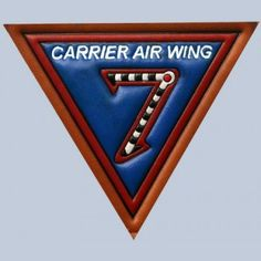 Buy Carrier Air Wing 7 Leather patch FlightJacket.com