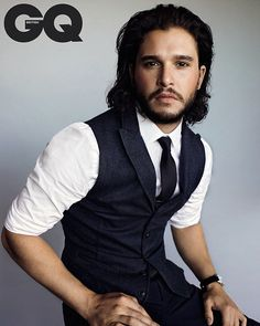 "Kit Harington for ""GQ"""