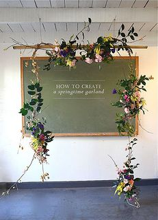 spring garland, rosehip flora | par laurenhcraig