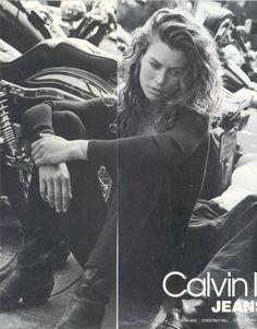 Carre Otis By Bruce Webber For Calvin Klein 1991