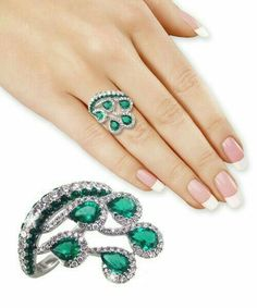 NANA Princess w/side CZs Mothers rings 1 to 6 Simulated Birthstones - Sterling Silver - Size 9 - Top Drawer Jewelry Cute Jewelry, Jewelry Art, Jewelry Rings, Jewelry Accessories, Jewelry Design, Jewellery, Emerald Jewelry, Diamond Jewelry, 4 Diamonds