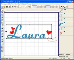 Joining Letters In Embroidery Software