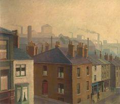 A Lancashire Town - Harold Workman (1897–1975) - Gallery Oldham