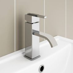 Get ultra-modern, designer looks at an affordable price with our stunning Milan mono basin mixer. Bathroom Taps, Sink Taps, Basin Mixer Taps, Pipe Sizes, Modern Farmhouse Plans, Interior Stairs, Modern Exterior, Diy On A Budget, Chrome Finish