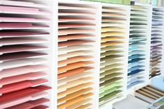AWESOME scrapbook paper storage
