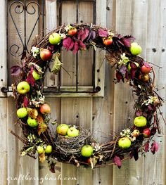Nature Inspired Autumn Wreath