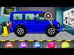 car wash and spa part 4 car wash games for kids video