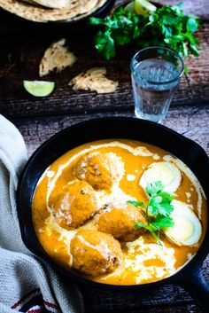 Egg Butter Masala Eggs In A Rich And Buttery Gravy