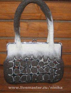 Женские сумки ручной работы. Ярмарка Мастеров - ручная работа Маленькая  сумочка из серии