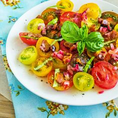 Cooking Weekends: Tomato Salad with Warm Bacon Dressing
