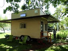 Inside Northwestern's Off-the-Grid Tiny House
