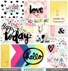 Designer @ashleyhorton75 is up on the blog with a new awesome LO using…