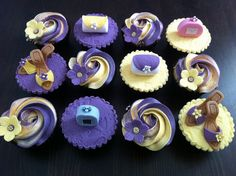 Purple girly cuppies