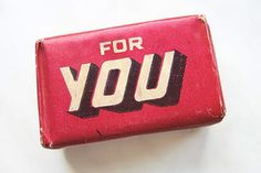 Vintage Polish soap packaging.