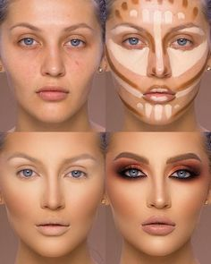 26 Makeup Tricks for Older Women - Page 4 of 4 - Style O Check Base Makeup, Makeup Steps, Oval Face Makeup, Makeup Guide, Makeup Spray, Makeup 101, Makeup Goals, Makeup Inspo, Beauty Makeup