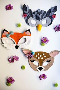 animal masks masquerade \ animal masks for kids - animal masks - animal masks masquerade - animal masks printable - animal masks for kids paper plate - animal masks for kids printable - animal masks for kids diy - animal masks art Diy And Crafts, Arts And Crafts, Paper Crafts, Diy For Kids, Crafts For Kids, Diy Carnival, Kindergarten Crafts, Animal Masks, Mask Party