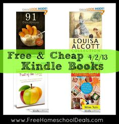 Free and Cheap Kindle Books 4/2/13: Louisa May Alcott Collection 39 Works, Fruit of Self Control, Pinterest Savvy, plus more
