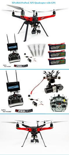 XProHeli ProPack XP2 Quadcopter with GPS