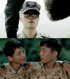 Descendants Of The Sun | Jin Goo and Song Joong Ki