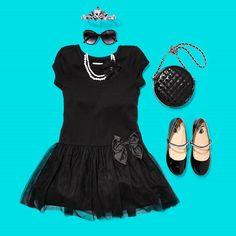 Create an #AudreyHepburn inspired look this Halloween, darling!  #DIY #halloween #costumes #girlsfashion
