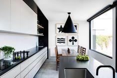 via heavywait - modern design architecture interior design home decor & Rooms Ideas, Melbourne House, Design Your Dream House, House Design, Kitchen Living, Room Kitchen, Open Kitchen, White Cabinets, Beautiful Kitchens