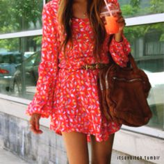 Spring dress casual.