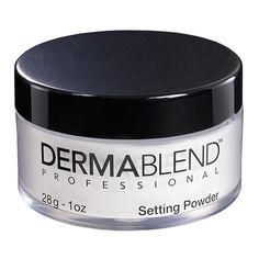 Dermablend Loose Setting Powder, Cool Beige Face Powder Makeup for Light, Medium and Tan Skin Tones, Mattifying Finish and Shine Control, Best Makeup For Rosacea, Rosacea Makeup, Body Makeup, Free Makeup, Setting Powder, Makeup Brands, Best Makeup Products, Beauty Products, Face Products