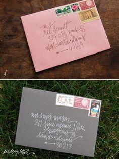 lindsay letters | envelopes