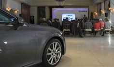 Presentación Internacional Lexus GS 300h en el Convento del Carmen. Pastrana. Lexus Motor Europe