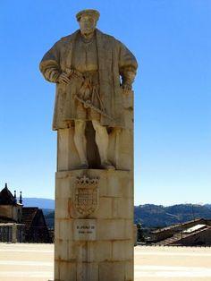 Vista da Universidade de Coimbra - Portugal