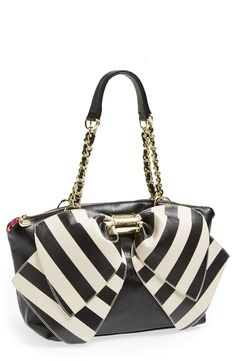 Betsey Johnson 'Bow-nanza' Satchel (Online Only)