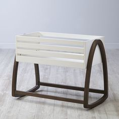 Shop Crate and Barrel for high quality kids furniture; including kids bedroom furniture, baby furniture for your nursery, playroom furniture and more. Baby Girl Bassinet, Baby Cribs, Wood Bassinet, Baby Boy, Nursery Furniture, Kids Furniture, Bed Rails For Toddlers, Baby Store, Handmade Furniture