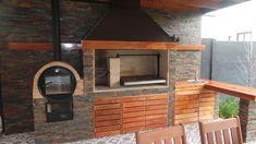 Pergola Kit Home Depot Outdoor Kitchen Grill, Pizza Oven Outdoor, Backyard Kitchen, Outdoor Kitchen Design, Gravel Patio, Patio Roof, Pergola Patio, Backyard Patio, Pergola Ideas