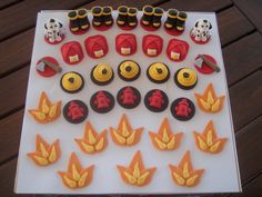 Mossy's masterpiece - fireman cupcake topper order | Flickr