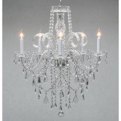 Plug In Chandelier, Crystal Chandelier Lighting, Empire Chandelier, Chandelier Shades, Style Empire, Gallery Lighting, Lighting Ideas, Compact Fluorescent Bulbs, Tree Of Life