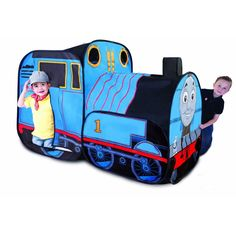 Playhut Thomas the Train Play Vehicle 3 years & up. The Thomas The Train Playhouse is great for indoor play! Fits up to 4 little passengers. Sports Games For Kids, Play Vehicles, Thing 1, Musical Toys, Indoor Play, Indoor Outdoor, Indoor Tents, Outdoor Toys, Thomas The Tank