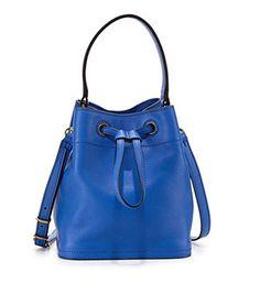 #girl #party #Tory Burch Mini Leather Bucket Bag, Neptune
