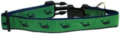 Preston Navy Whale on Kelly Green Dog Collar Large 15inch to 24inch by Preston Inc >>> Visit the image link more details.(This is an Amazon affiliate link and I receive a commission for the sales)