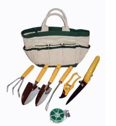 Master Craft Eight-Piece Garden Tool and Tote Set --- http://www.amazon.com/Master-Craft-Eight-Piece-Garden-Tool/dp/B0058STCFS/?tag=affpicntip-20