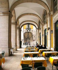 Café-Restaurante Martinho da Arcada, Lisbon,Portugal.