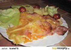 Zapékaný baklažán (lilek) recept - TopRecepty.cz Mozzarella, French Toast, Breakfast, Food, Morning Coffee, Essen, Meals, Yemek, Eten