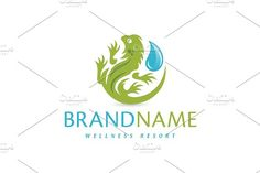 For sale. Only $29 - animal, circle, nature, pet, water, life, spa, environment, forest, aqua, wild, drop, liquid, spine, droplet, tail, scale, rain, lizard, iguana, wellness, zoo, hydroponics, resort, natural, logo, design, template,