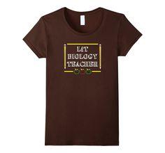 Lit Biology Teacher Gift T Shirt I Love Teaching Gift Teach