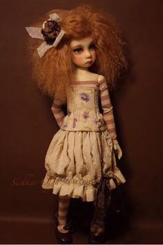 OOAK Handmade MSD Outfit by Sicholga