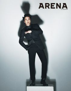 """Jung Yong Hwa Looking Suave for """"Arena Homme Plus"""" - Soompi"""