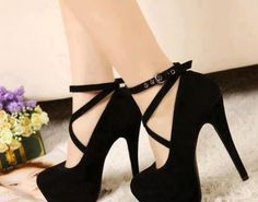 You can never really have enough black heels.