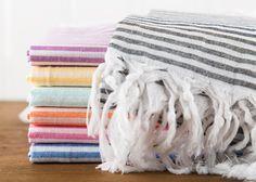 Cotton Turkish Towel Bath Towel Sauna Towel Beach by LongestThread Spa Towels, Turkish Towels, Beach Towel, Breeze, Patio, Blanket, Cotton, Etsy, Blankets