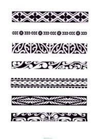 Resultado de imagen para plantillas brazaletes maories