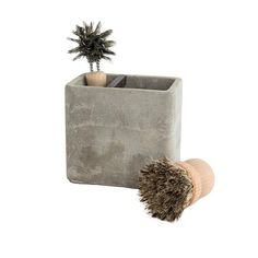 Concrete Brush Holder